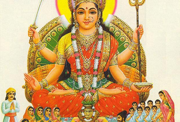 माँ संतोषी की  कथा तथा पूजा विधि ( maa santoshi katha )