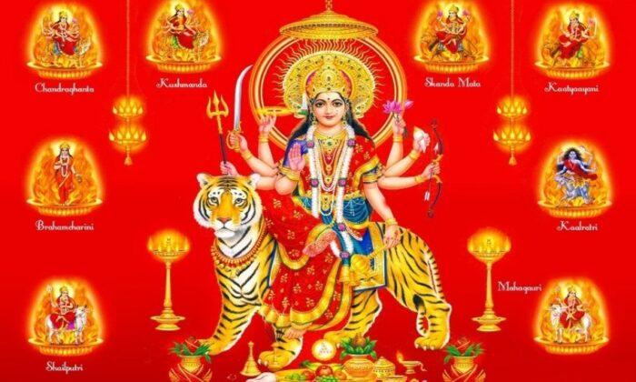 नवरात्री के नौ दिन और माँ के नौ स्वरूपों का अर्थ जानिए ( 9 days of navratri )