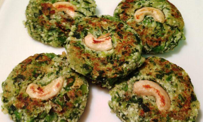 शाकाहारी कबाब बनाना हुआ अब आसान ( shakahari hara bhara kabab )