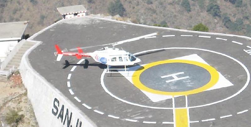 vaishno davi helicopter facility