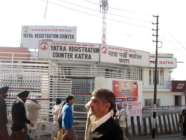 Yatra Registration Counter Katra