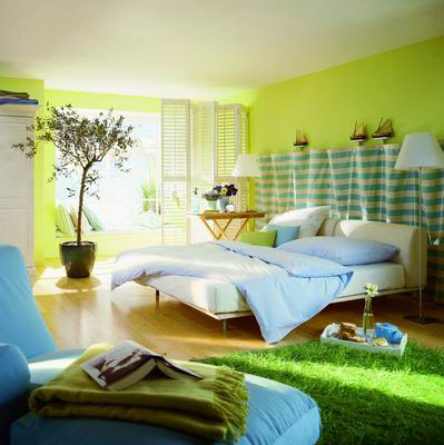 green-paint-house-interior-paint-ideas-bedroom