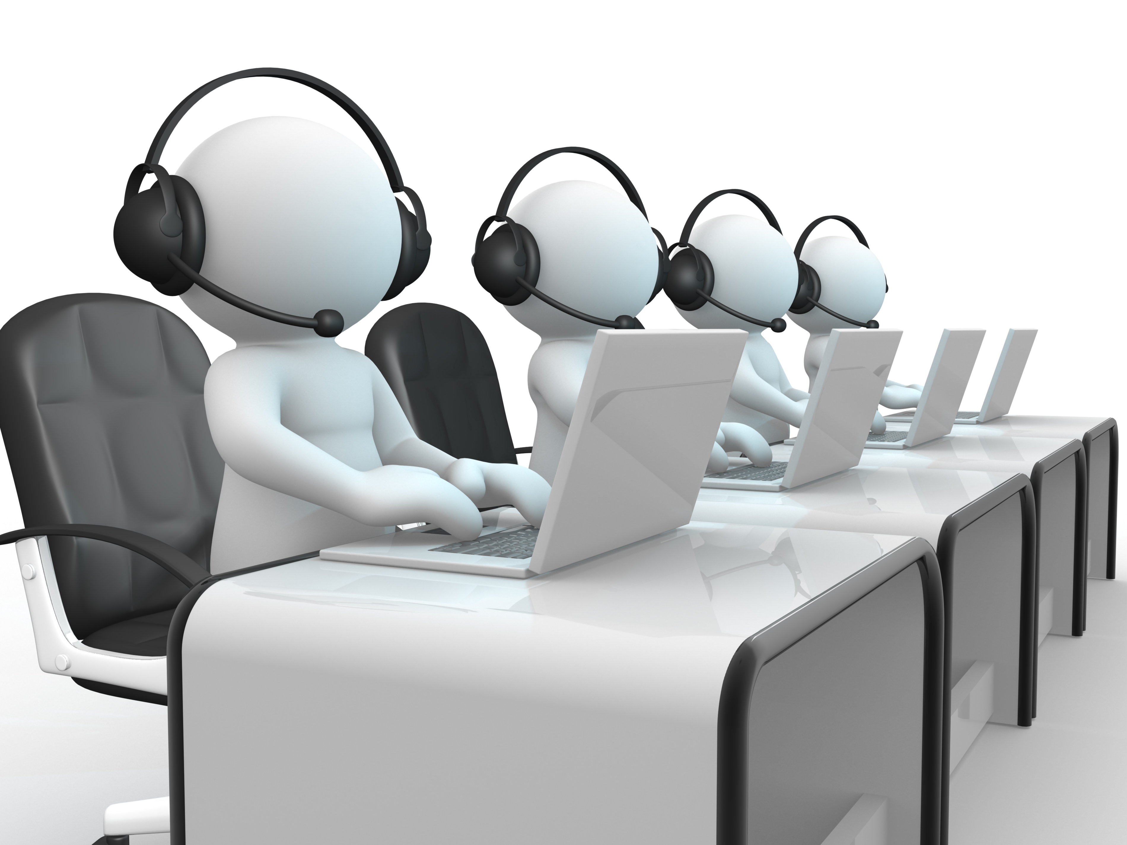 is-seth-godin-s-advice-good-for-call-centers-jz2hdx-clipart