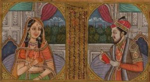salim-jahangir-his-wife-painting