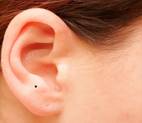 कान पर