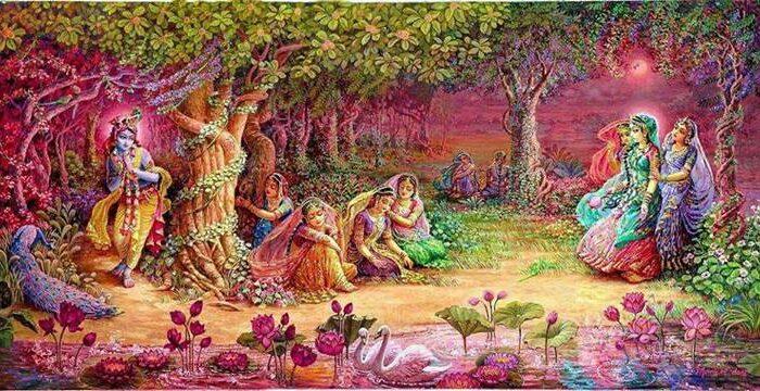 श्री कृष्ण की पागल कर देने वाली महारास लीला ( shri krishana ki pagal kar dene wali raslila )