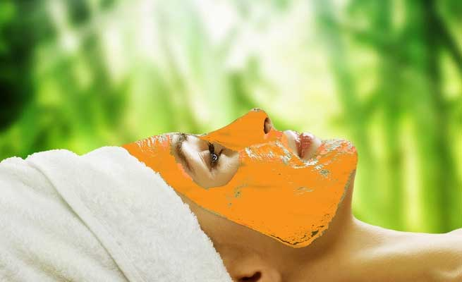 tulsi-mint-and-orange-peel-face-pack