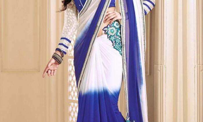 अपनी सिम्पल सी दिखने वाली साड़ी को दे नया लुक ( give your saree new look )