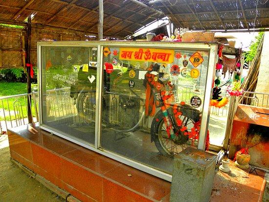 बुलट बाबा की मोटरसाइकिल करती है चमत्कार ( amazing bulet baba bike )