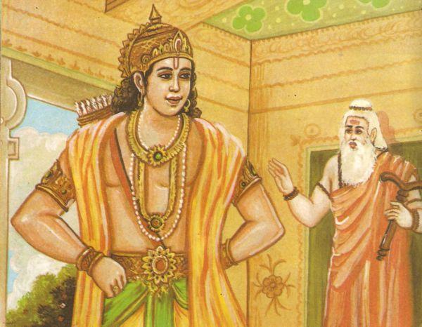 durvasa rishi curse to ayodhya