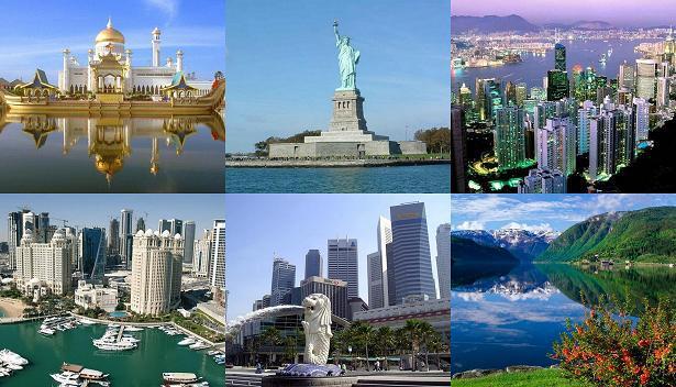 तो इसलिए विश्व में अमीर  माने जाते है  ये 8 देश ( the global surface rich 8 country )