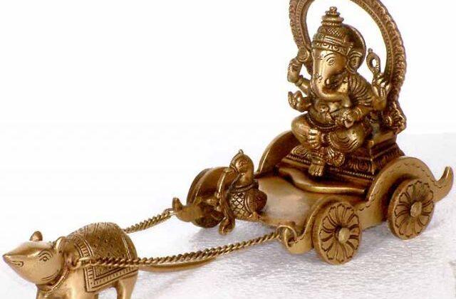 गणेश जी का वाहन मूषक ऐसे बना गणेश पुराण के अनुसार ( lord ganeshas vahan is mushak )