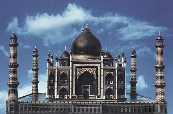 Black-Taj-mahal