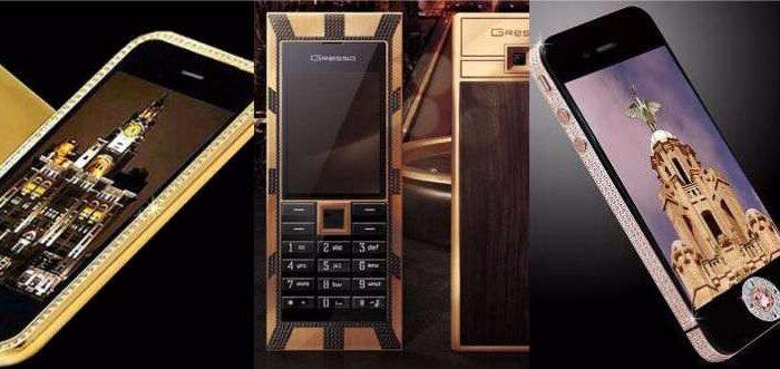 दुनियाँ के एक्सक्लूसिव फोन है ये ( xpensive mobile phone in the world )