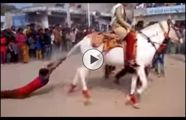 कभी देखी है ऐसी मज़ेदार बारात हँस-हँस कर हो जायेंगे लॉट-पॉट देखिए वीडियो में ( baraat funny video viral on youtube )
