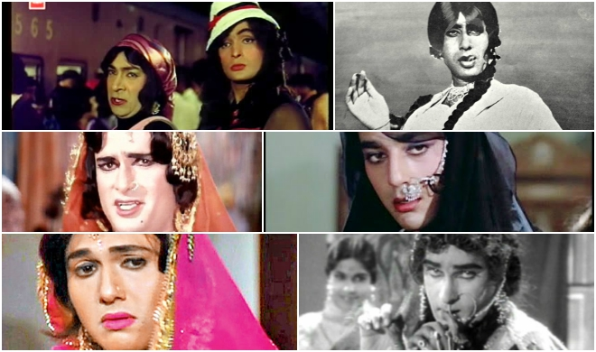 12 Bollywood Actors Played Female Characters In Hindi Films