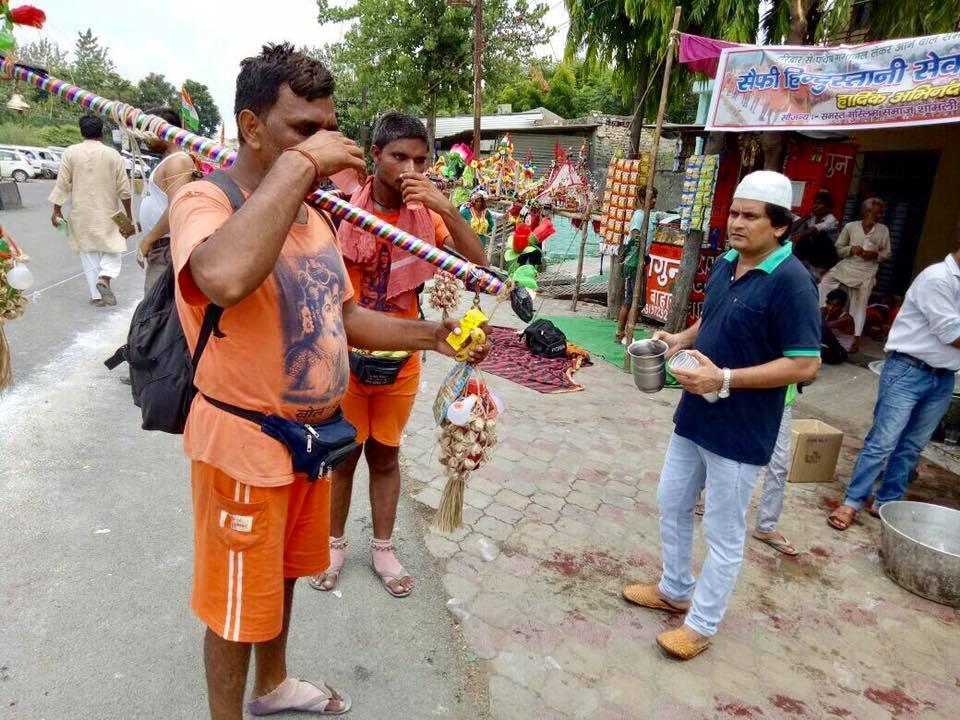 Kawad Yatra camp for Shiva devotees 2