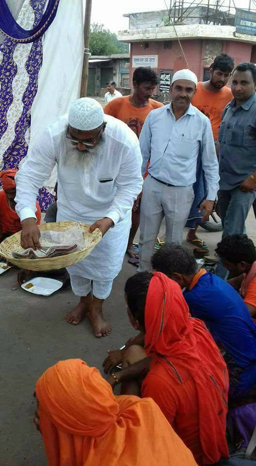 Kawad Yatra camp for Shiva devotees by saifee hindustani