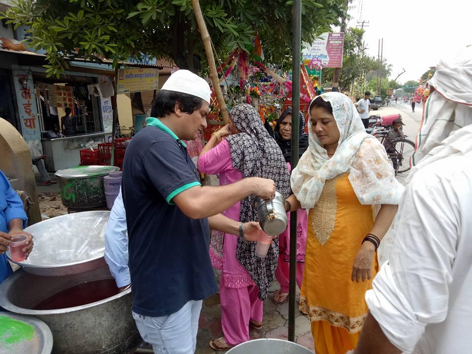 Saifee Hindustani Seva Society kawad camp