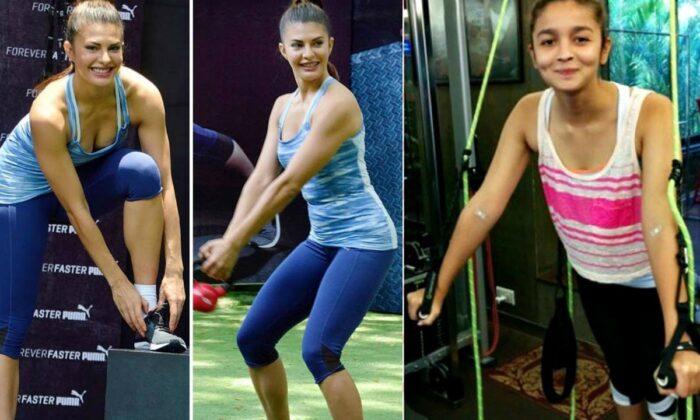Photos: इस मामले में बॉलीवुड की देसी गर्ल्स देसी बॉयज से कम नही ( bollywood actress gymworkout hot viral pictures )