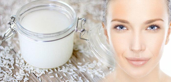 "चावल के पानी से पायें  ""दमकती-चमकती"" त्वचा ( make glowing skin with rice water )"