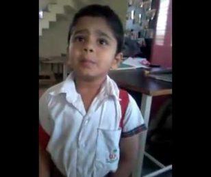 वीडियो : अगर मम्मी सुधर जाती तो ये बच्चा न होता स्कूल को लेट