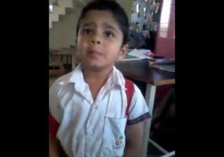 वीडियो : अगर मम्मी सुधर जाती तो ये बच्चा न होता स्कूल को लेट ( funny school kid viral video )