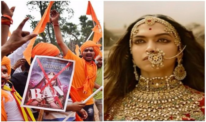 संजय लीला भंसाली की विवादित फिल्म 'पद्मावत'के लिए लोगो ने किया हिंसक विरोध, वीडियो हुआ वायरल ( sanjay leela bhansalis controversial film padmavat made a violent protest video )