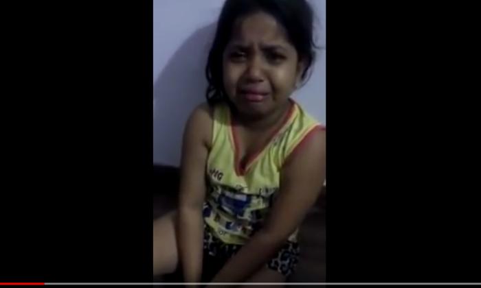 भारतीय सेना के जवान शहीद हुएं तो, रोती हुई मासूम बच्ची का गुस्सा वीडियो में देखिये ( the soldiers of indian army are martyrs look at the anger of the innocent child in the video )