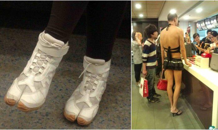 इन लोगो का फैशन देख, आप तौबा कर लेंगे फैशन की दुनिया से ( funny fashion viral pictures of people )