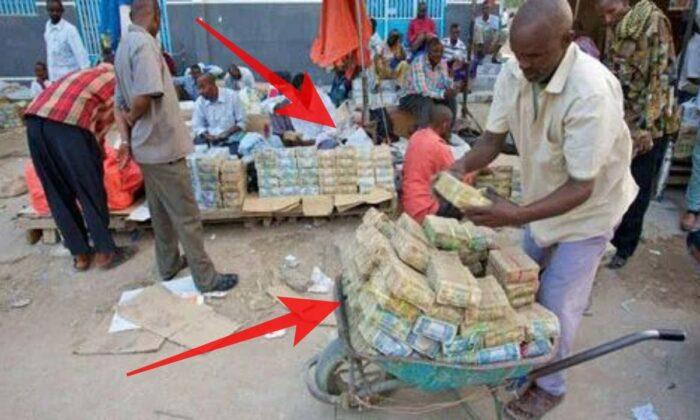 यहाँ लगता है पैसों का बाजार, बिकता है पैंसा ( the world famous money market of somaliland )