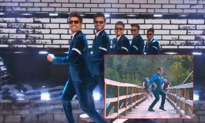 """देसी बॉयज ने दिखाया अमेरिका के रिएलिटी शो में """"धमाकेदार परफॉर्मेंस"""" ( viral video indiangroup dance in showtime at the apollo )"""