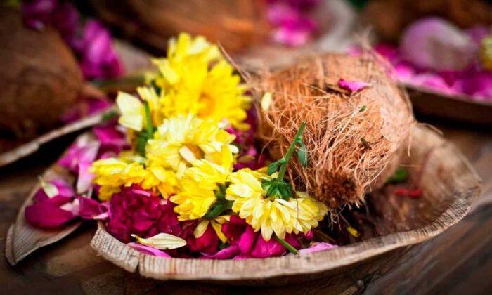 चैत्र नवरात्रि : पूजा का नारियल अगर ख़राब निकले, तो वो है शुभ संकेत ( coconut spoiled during god worship indicate good sign )