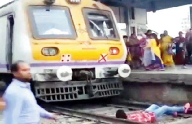 रेल की पटरी पर प्रैंक वीडियो बनाने की कोशिश, पड़ गई महंगी ( viral video vj pawan singh arreast prank on railway station )