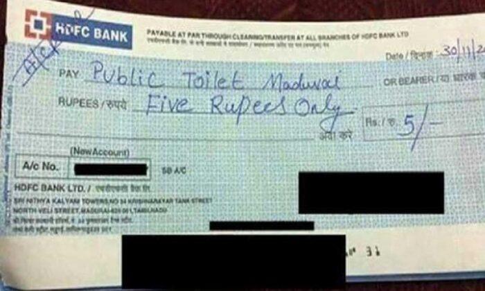 इन cheques को देख आप हँसते-हँसते लोटपोट हो जाएँगे ( funny cheques pictures )