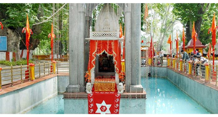 Kheer Bhawani Temple Pool