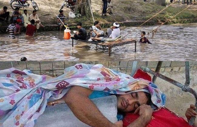 देसी जुगाड़: जब गर्मी से बेहाल लोगों को मजबूरन ऐसे कदम उठाने पड़े ( 10 funny keep cool summer desi jugad )