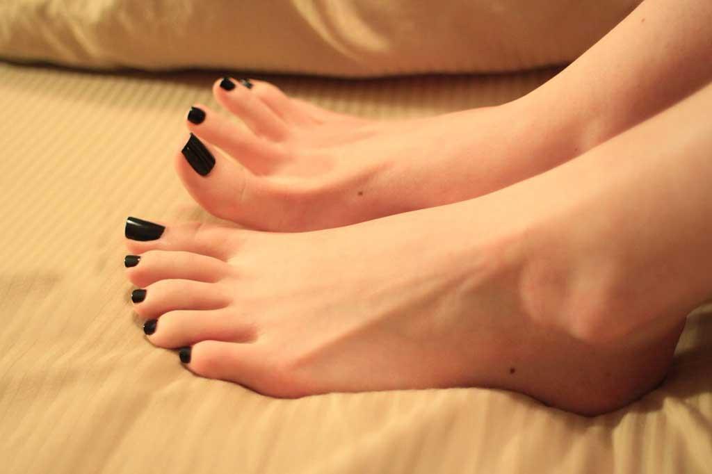 साफ पैर
