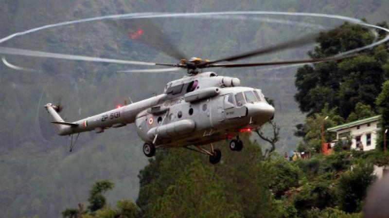 MI-17 Helicopter Crash in Kedarnath