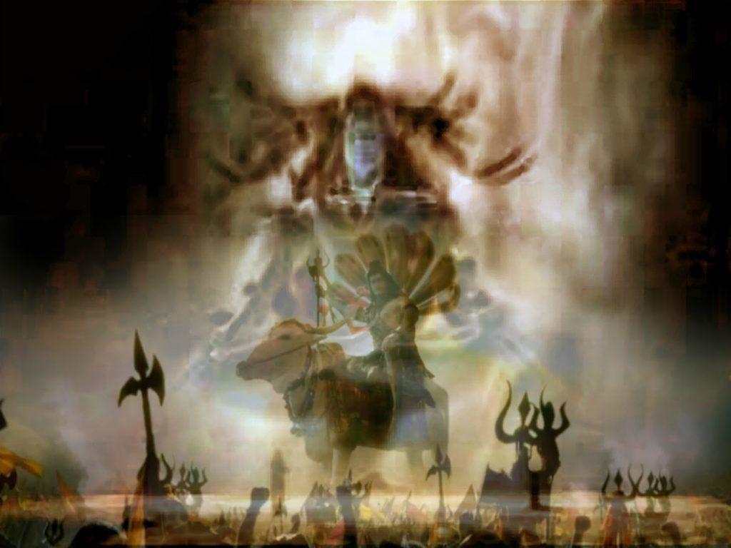 भयंकर रूपधारी भगवान शिव