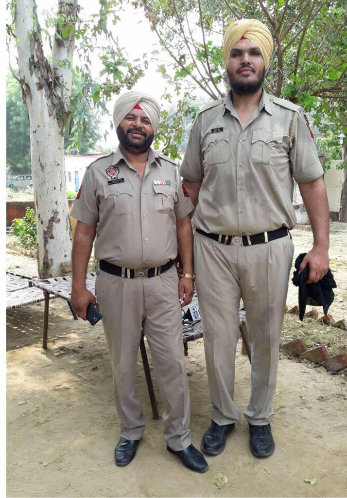 सबसे लंबा पुलिसवाला जगदीप बाजवा