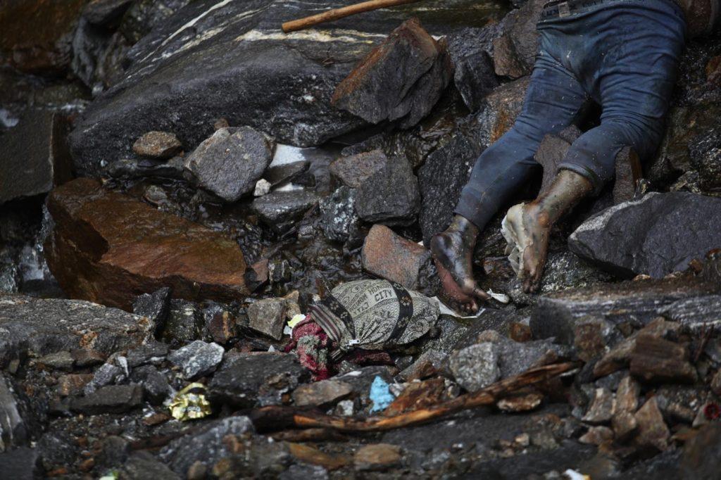 Kedarnath Uttarakhand Flood Dead Body