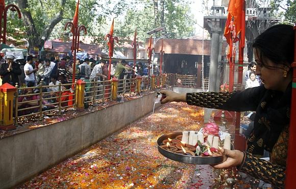 Kher Bhwani Fountain Pool