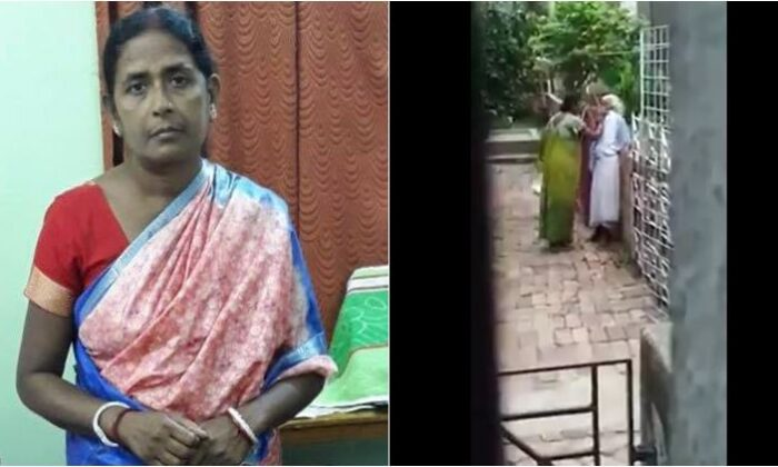 kolkata woman beating mother-in-law
