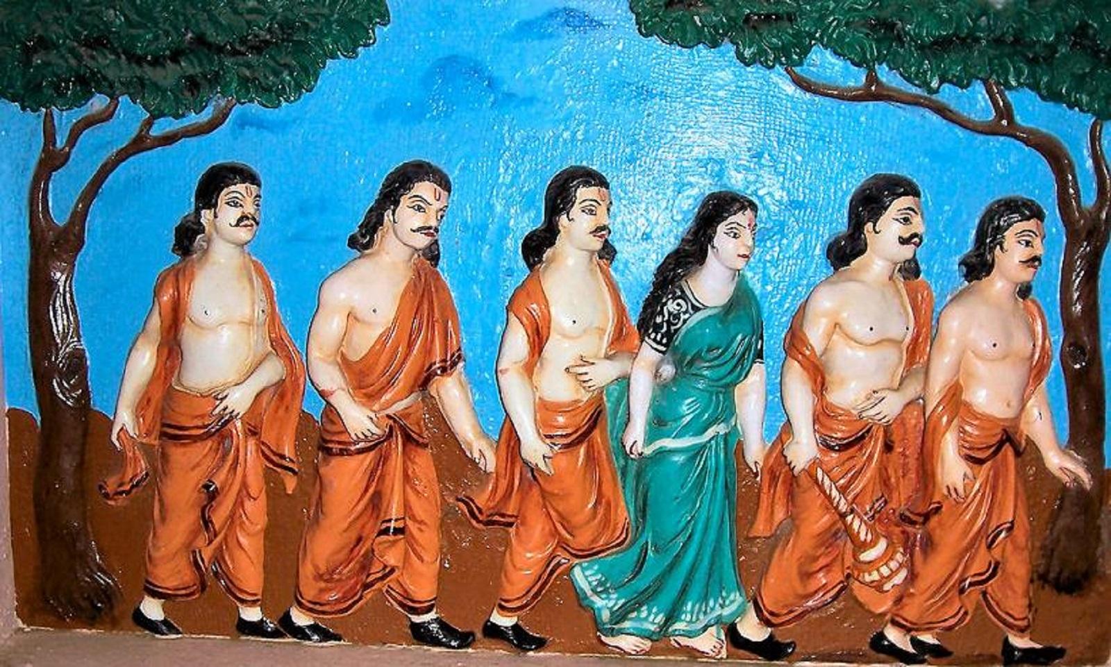 pandavas during agyatvaas
