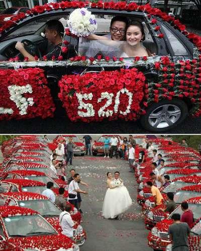 99,999 roses