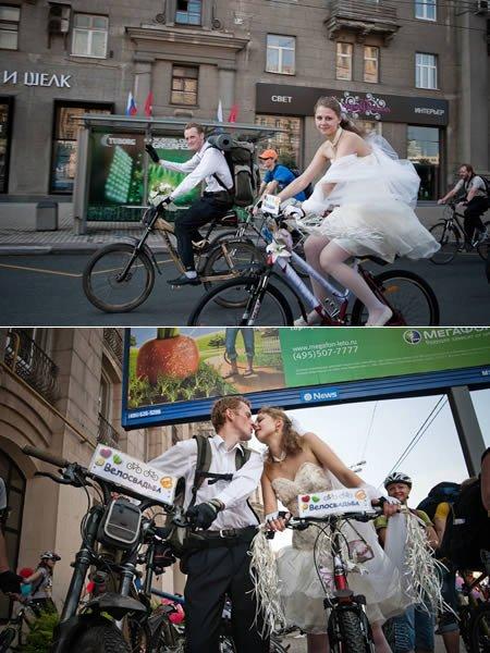 cycle pr ghum kr ki shaadi