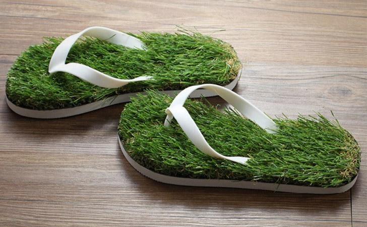grass slippers