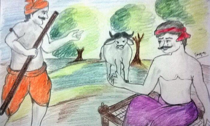 भैंस का बंटवारा ( bhians ka bantwara )